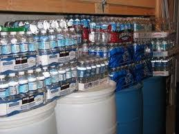 water stockpile